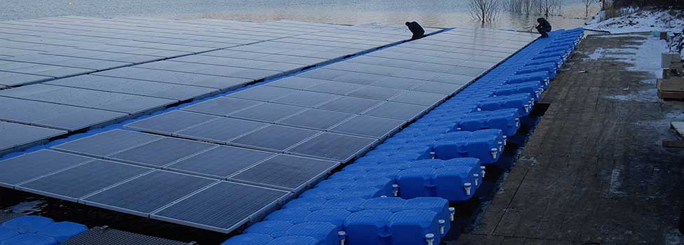 floating photovoltaic system